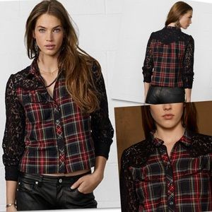 DENIM & SUPPLY RALPH LAUREN DOUGLAS MUSTANG SHIRT